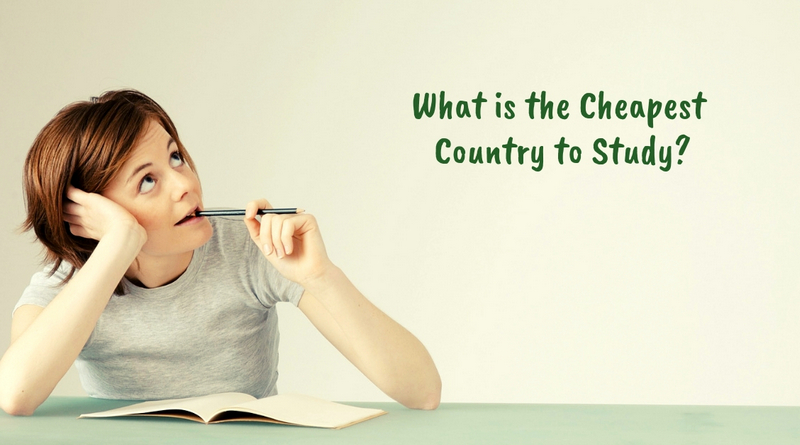 Cheapest Country to Study