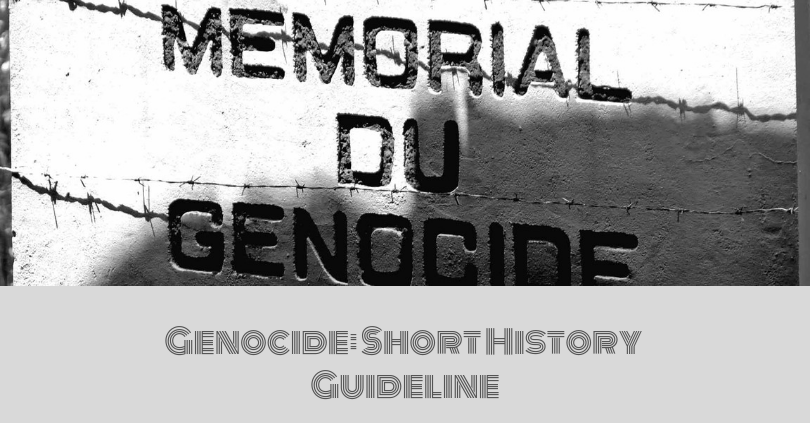 Genocide_ Short History Guideline